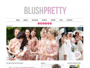 BlushPretty • Website Design