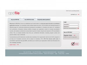 cpd file • Website Design