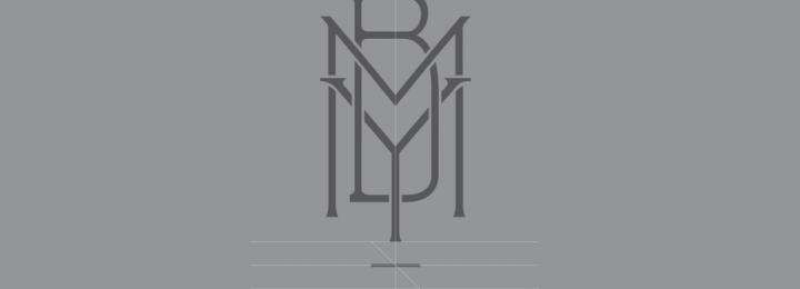 MYB TEXTILES logo design