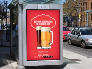 BierMarkt • Outdoor Billboard