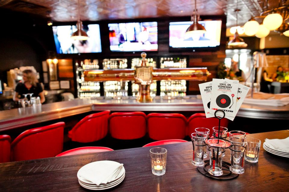 NLB Media Graphic And Web Design In Toronto ON BierMarkt - Restaurant table talkers